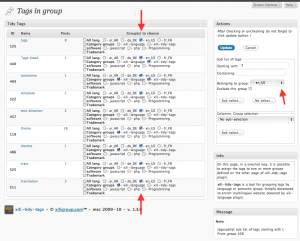 the admin assign UI : with big tags list, it is now possible to select tags starting or containing char(s) or word(s).