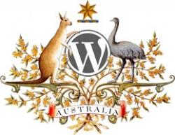 Logo du WordCamp 2008 à Sydney