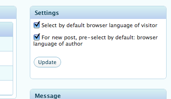Admin Tools UI - pre-set default language of author according his browser's language.