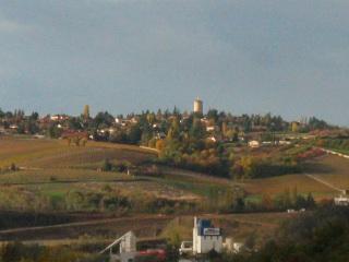 Village on automn