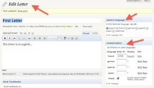 Exemple de contenus personnalisés (custom post type)