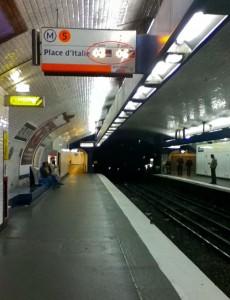 Timing précis et annoncé des rames Metro