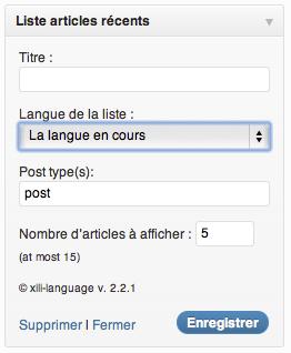 widget latest posts (fr)