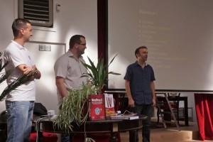 Benoît, Amaury et Xavier