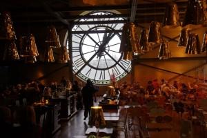 Cafétaria Musée d'Orsay avec vue sur Montmartre